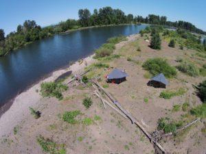 Willamette River Camp Paddle Oregon Pod Leader 2016 - www.PaddlePeople.us