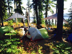 Waldo Lake Camp 2015 - www.PaddlePeople.us