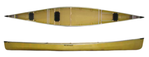 Wenonah Minn 3 Canoe - Factory Stock Photo