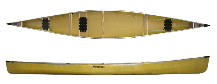 Wenonah Minn 3 Kevlar Canoe - www.PaddlePeople.us