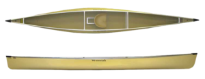 Wenonah Voyager Canoe - Factory Stock Photo