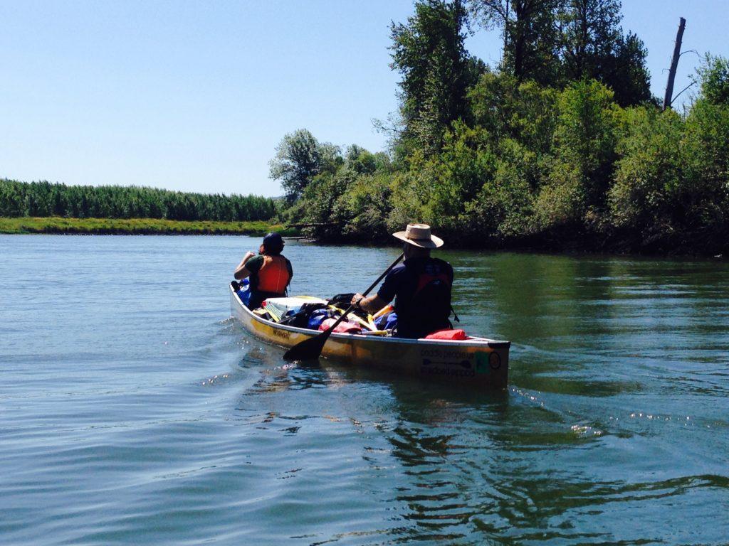 Russ Woodward Columbia River Wenonah Minnesota 3 - www.PaddlePeople.us