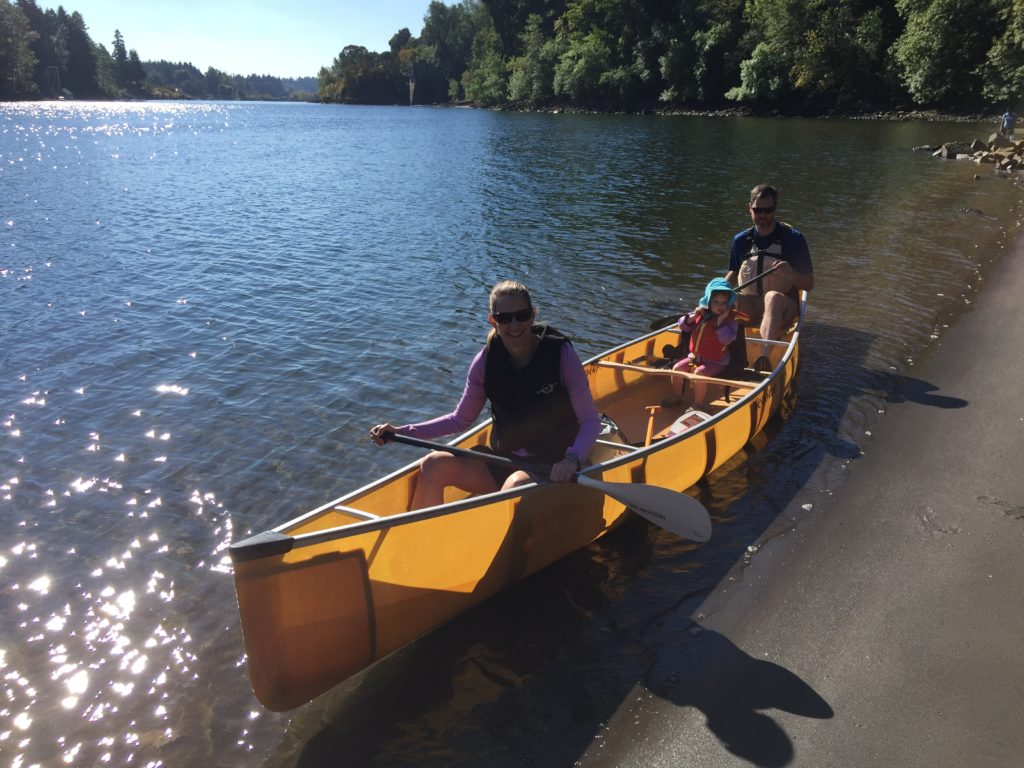 wenonah-seneca-canoe-at-george-rogers-park-oregon