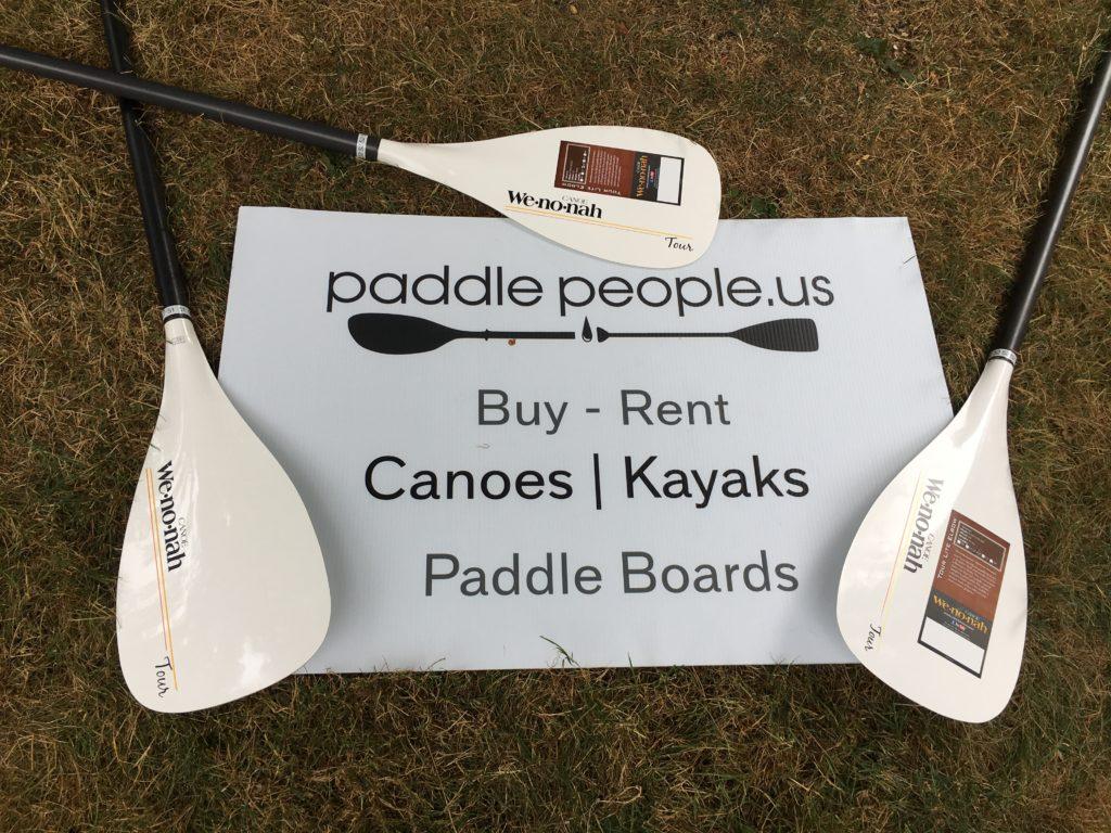 Wenonah Tour Lite Elbow Canoe Paddles - www.PaddlePeople.us