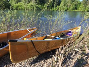 Willamette River Oregon Wenonah Kevlar Canoes - www.PaddlePeople.us