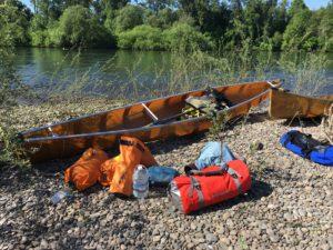 Willamette River Oregon Wenonah Encounter Canoe - www.PaddlePeople.us