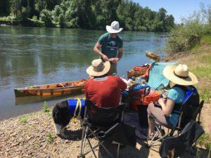 Willamette River Wenonah Canoe - www.PaddlePeople.us