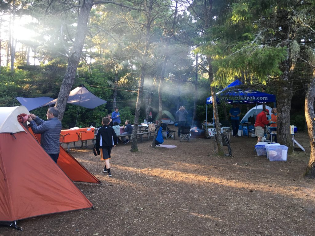 Oregon Coast Camping South Beach State Park - www.PaddlePeople.us