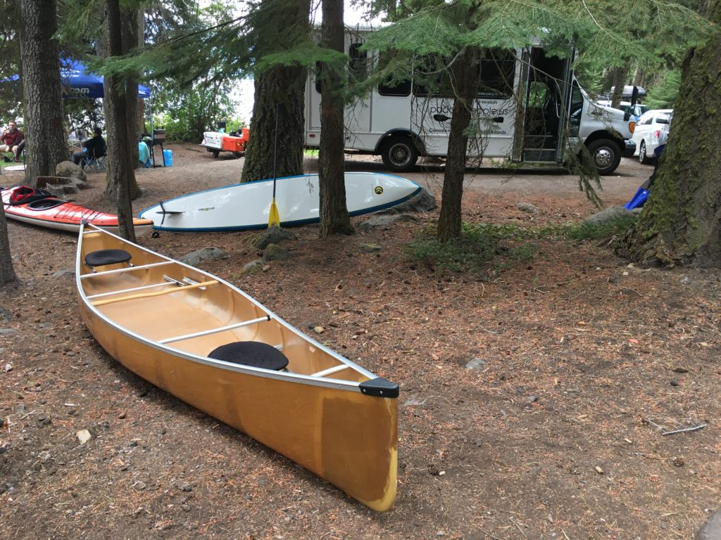 Wenonah Seneca Kevlar Canoe at Odell Lake Lodge Campgroud - www.PaddlePeople.us