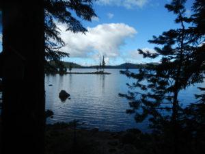 Waldo Lake Oregon - The Russ Woodward Collection - www.PaddlePeople.com
