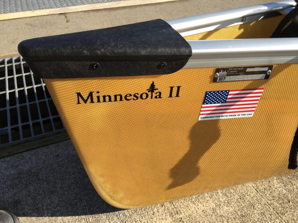Wenonah Minnesota 2 Kevlar Canoe - www.PaddlePeople.us