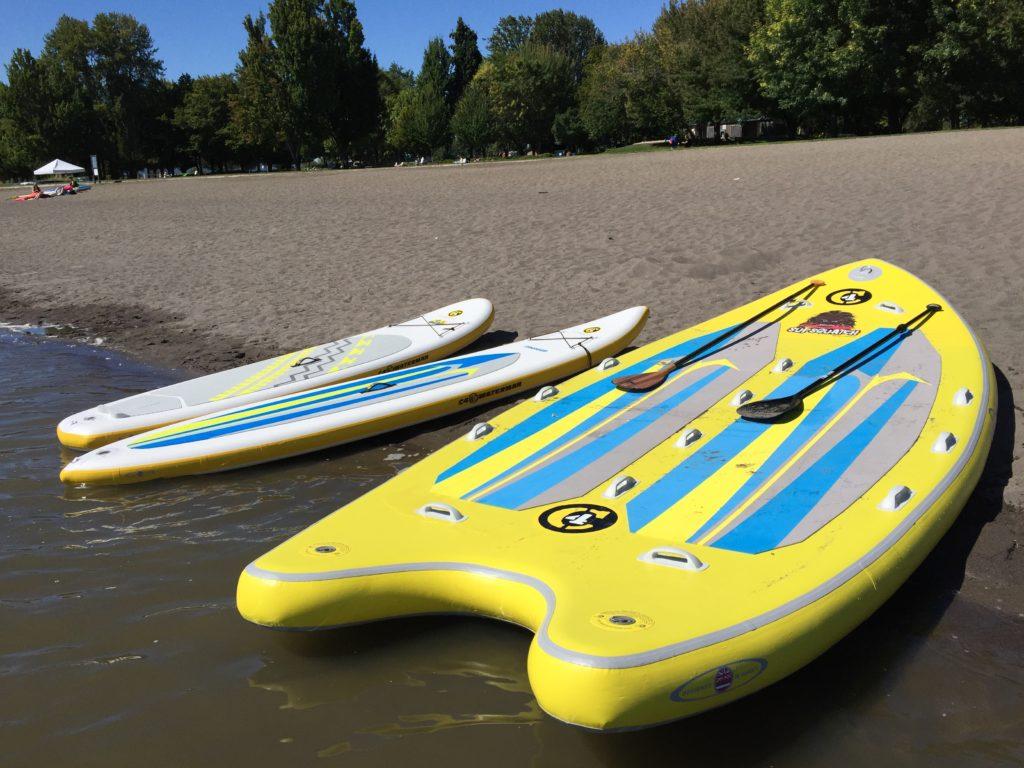 C4 Waterman SupSquatch - Lake Vancouver Washington - www.PaddlePeople.us