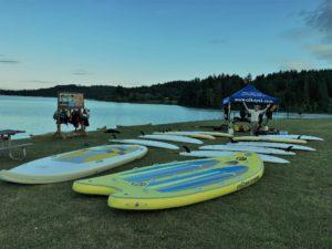 Russ Woodward - Henry Hagg Lake Oregon - www.PaddlePeople.us