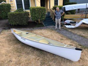 Wenonah Escapade Canoe Russ Woodard - www.PaddlePeople.us