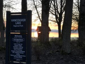 Vancouver Lake Regional Park at Sunrise