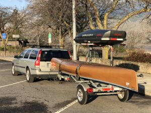 Malone MicroSport Canoe Trailer in Action - For Sale