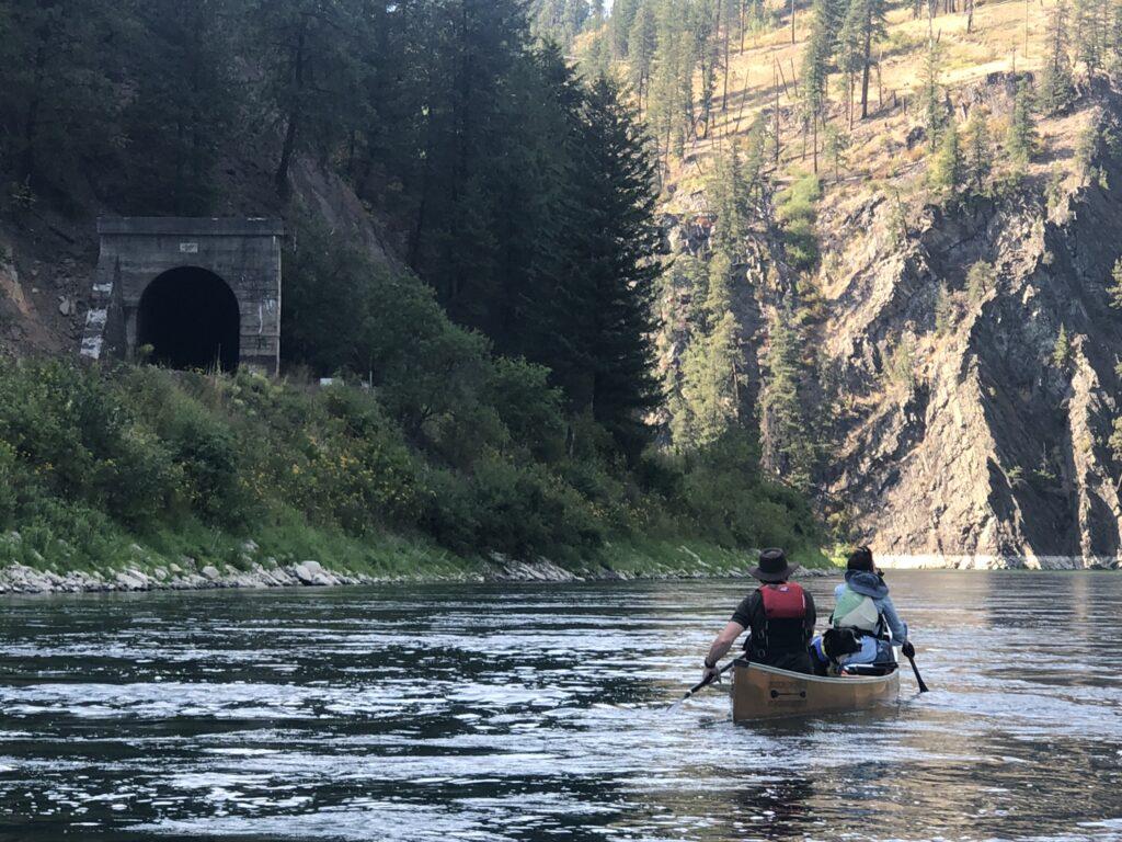 Wenonah Champlain Aramid Canoe Russ Woodward Michelle McClellan Aggie Dog